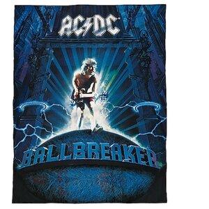 Lizenz Fleecedecke AC/DC