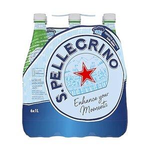 Sanpellegrino Mineralwasser 1 Liter, 6er Pack