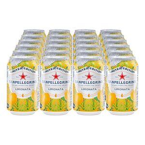 Sanpellegrino Limonata 0,33 Liter Dose, 24er Pack