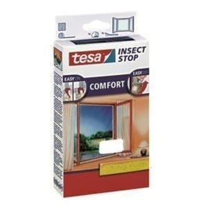 tesa Insektenschutz Fenster COMFORT 130 x 130 cm, weiß