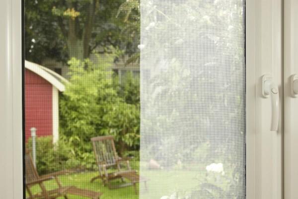 tesa Insektenschutz Gitter STANDARD 130 x 150 cm, anthrazit