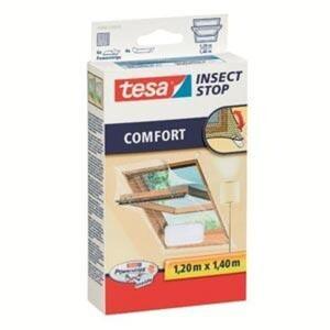 tesa Insektenschutz Dachfenster COMFORT 120 x 140 cm, weiß