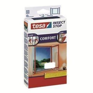 tesa Insektenschutz Fenster COMFORT 130 x 150 cm, weiß
