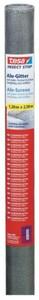 tesa Insektenschutz Gitter COMFORT Ersatzrolle 120 x 250 cm, grau