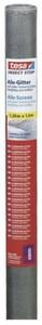 tesa Insektenschutz Gitter COMFORT Ersatzrolle 100 x 120 cm, grau