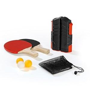 MAXXMEE Tischtennis-Set 7-tlg. 220cm schwarz/rot
