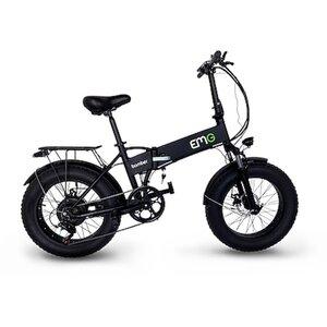 Electric Moving Green Bomber 20 Zoll Fat Muscle Bike, schwarz