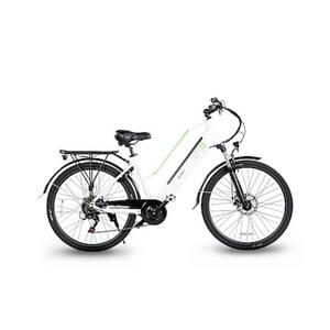 Electric moving green Queen City E-Bike 28 Zoll, weiß