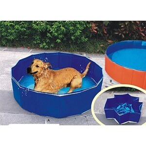 Heim Hunde Swimmingpool Outdoor-Dog Ø  80 x 20 xm