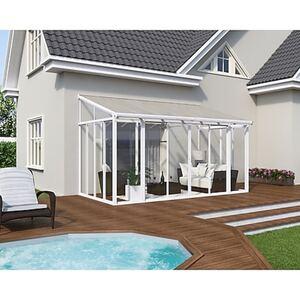 Palram Wintergarten San Remo 435 x 300 cm, weiß