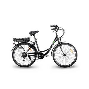 Electric moving green Jammy 26 Zoll City E-Bike, schwarz