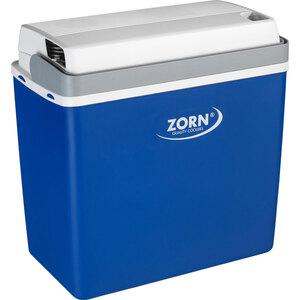 "Zorn              Kühlbox ""Z24"", 21 L, 12⁄230 V, weiß-blau"