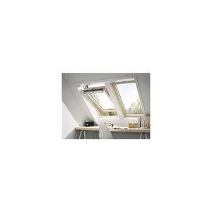 """Schwingfenster """"GGL CK02 3070"""", klar lack, Thermo Alu, 55x78 cm"""