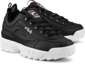 FILA, Disruptor Low in schwarz, Sneaker für Herren