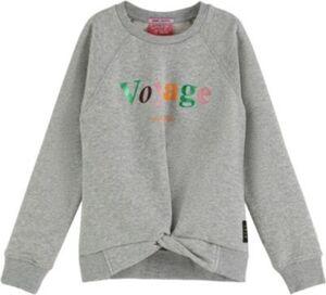 Sweatshirt  grau Gr. 128 Mädchen Kinder
