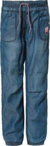Md.-Thermo-Jeans - Jeanshosen - weiblich dunkelblau Gr. 98 Mädchen Kleinkinder
