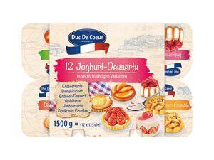 Duc de Coeur Fruchtjoghurt mit Kuchenstückchen