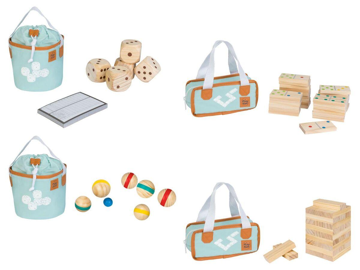 Bild 1 von PLAYTIVE® Holzspielzeug, mit Transporttasche