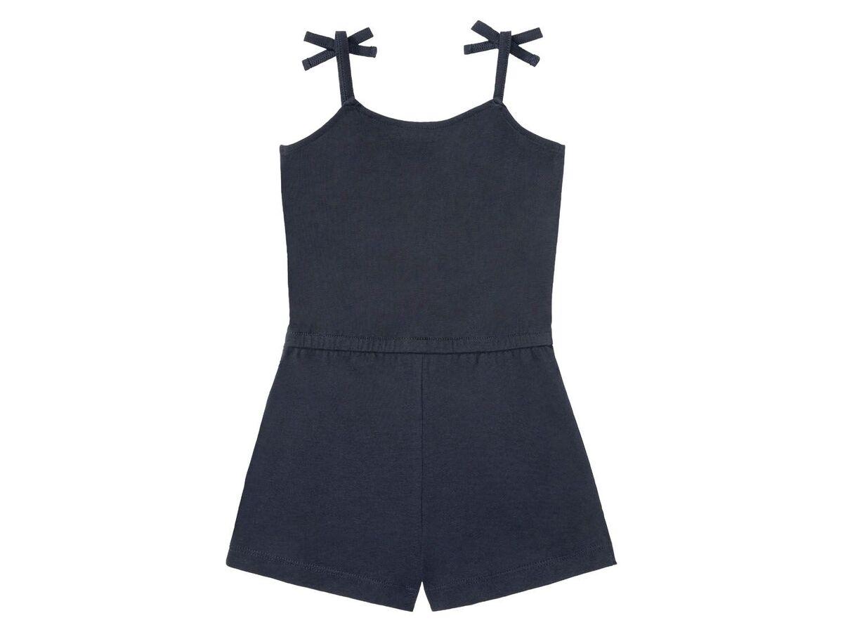 Bild 3 von LUPILU® Kleinkinder Jumpsuit Mädchen, mit Schleifchen