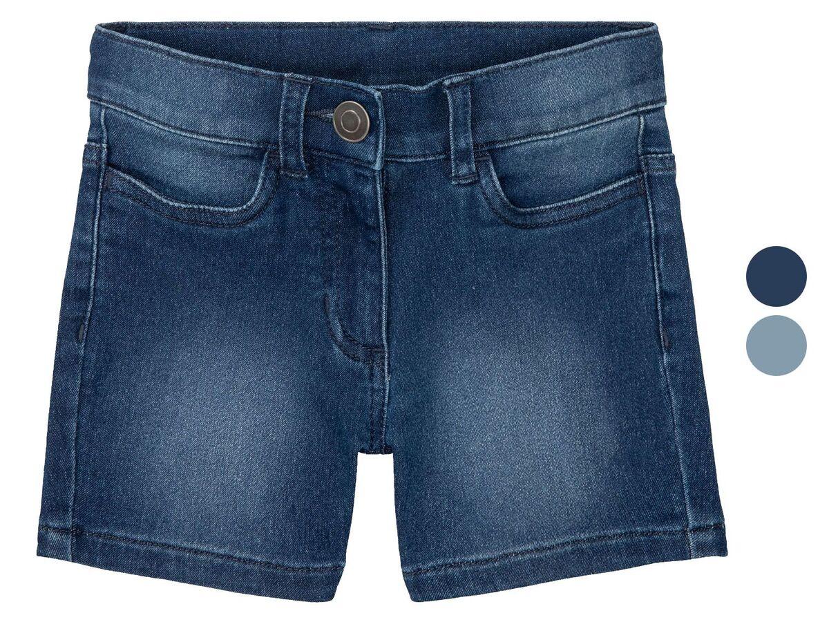 Bild 1 von LUPILU® Kleinkinder Shorts Mädchen, mit Eingrifftaschen