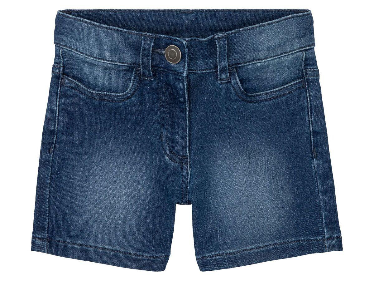 Bild 2 von LUPILU® Kleinkinder Shorts Mädchen, mit Eingrifftaschen