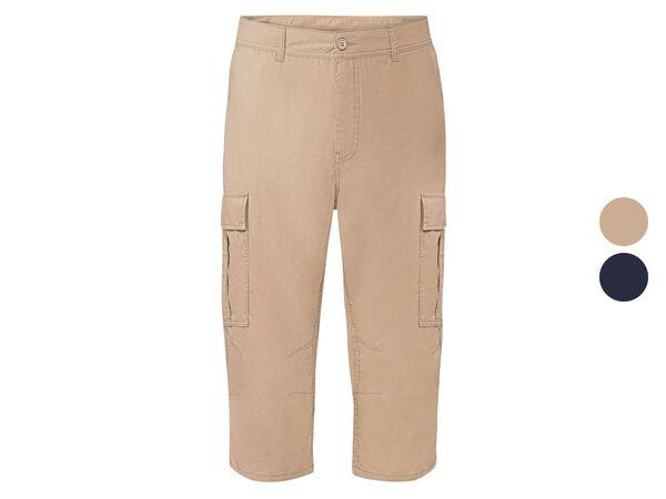 LIVERGY® Hose 3/4 Herren, mit aufgesetzte Cargo-Taschen