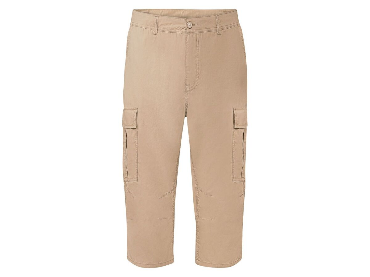 Bild 2 von LIVERGY® Hose 3/4 Herren, mit aufgesetzte Cargo-Taschen