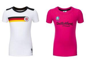 T-Shirt Mädchen, Deutschland UEFA Fußball-EM