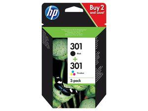 HP HP 301 BK+CMY Druckerpatrone 2er Pack