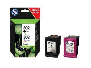 HP 302 BK+CMY 2er Pack