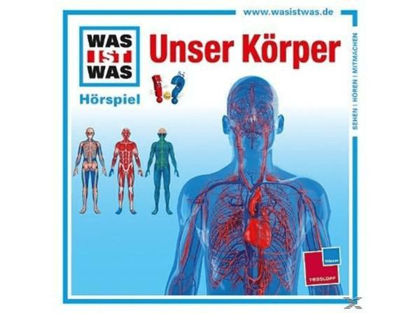 UNIVERSAL MUSIC GMBH Unser Koerper Einzelfolge - Kindermusik CD