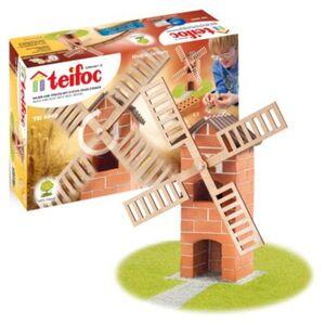 teifoc TEI 4040 Steinbaukasten -  Windmühle