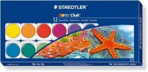Staedtler Noris Club Deckfarbkasten  12 Farben & Deckweiß