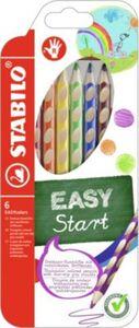 STABILO Farbstift EASYcolors 6er-Etui  Rechtshänder