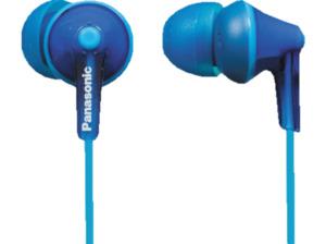 PANASONIC RP-HJE125 E-A, In-ear Kopfhörer, Blau