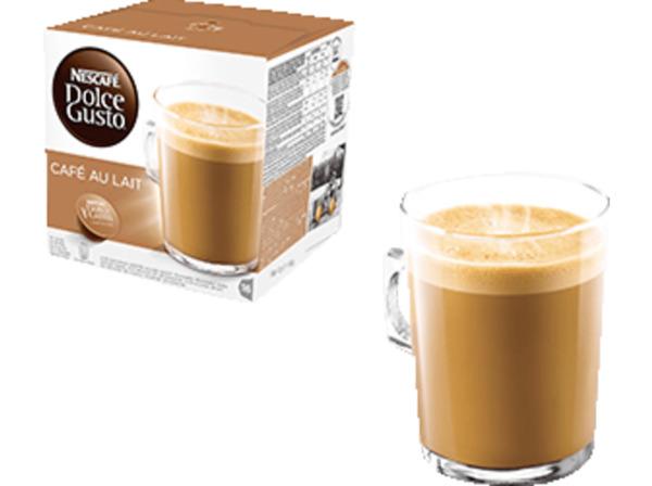 DOLCE GUSTO Cafe au Lait 16 Kapseln - Kaffeekapseln