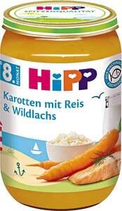 HiPP Menü Karotten mit Reis & Wildlachs 0.45 EUR/ 100 g 6 x 220.00g