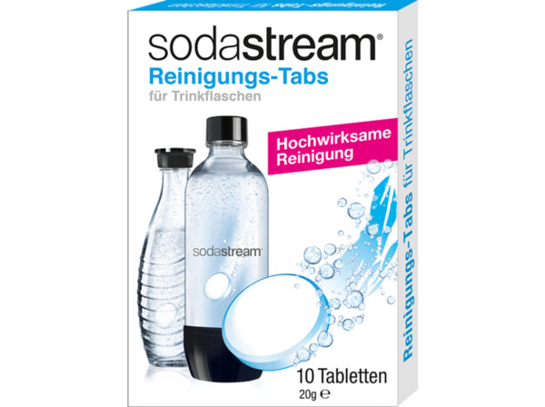 SODASTREAM Reinigungstabletten Soda-Clean - Wassersprudler