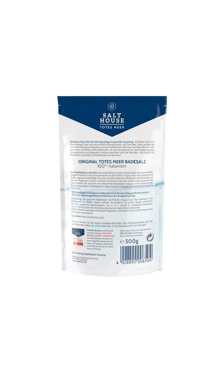 Bild 2 von Salthouse Original Totes Meer Badesalz 1.98 EUR/ 1 kg