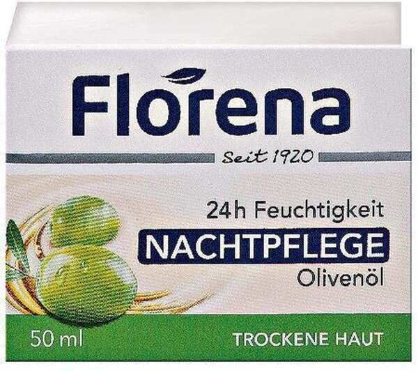 Florena 24h Feuchtigkeit Nachtpflege Olivenöl 5.98 EUR/ 100 ml