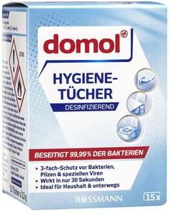 domol Hygiene-Tücher