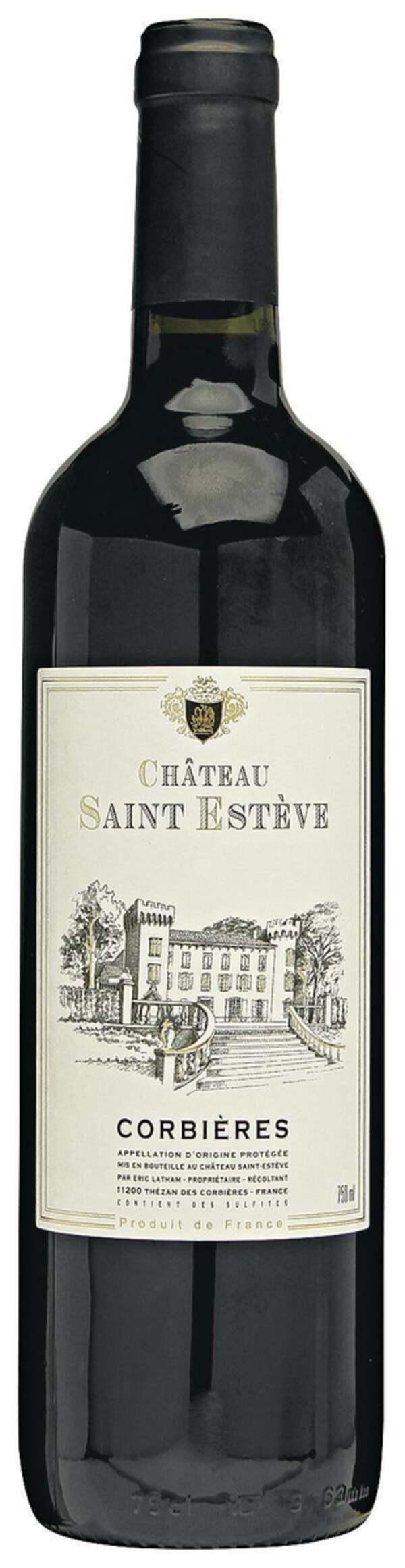 Château Saint Estève Corbières 6.65 EUR/ 1 l