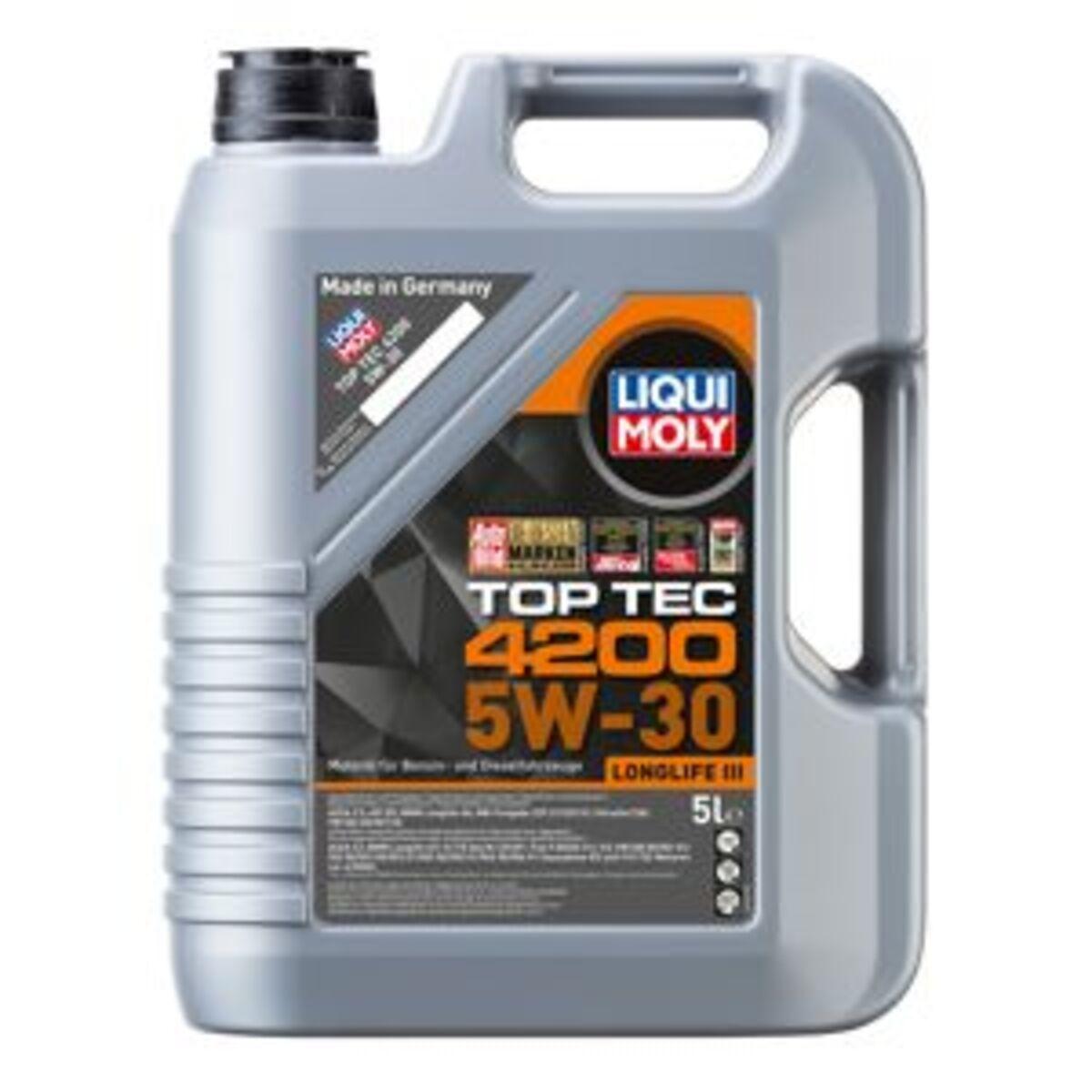 """Bild 1 von Motorenöl """"Top Tec 4200 5W-30"""" 5 l"""