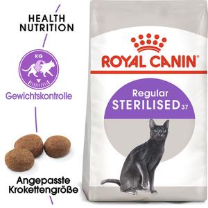 Royal Canin Sterilised 37 10kg + 2kg gratis