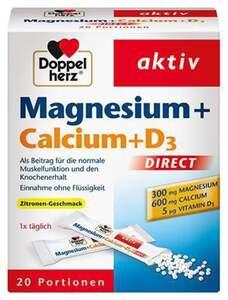 Doppelherz              Aktiv Magnesium+Calcium+D3 Direct Micro Pellets
