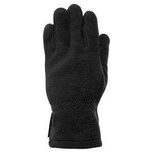 QUECHUA Fleece-Handschuhe Forclaz 500 Kinder, schwarz , Größe: 6 J. - Gr. 116