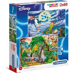 Disney Classic - Puzzle-Box - 2x 60 Teile - Supercolor