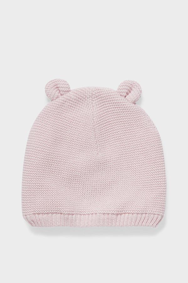 C&A Baby-Mütze-Bio-Baumwolle, Rosa, Größe: 42-43