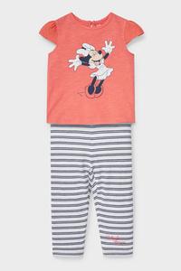 C&A Minnie Maus-Baby-Outfit-Bio-Baumwolle-2 teilig, Rosa, Größe: 62