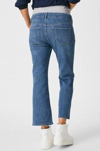 C&A Flare Jeans-Umstandsjeans-Bio-Baumwolle, Blau, Größe: 34